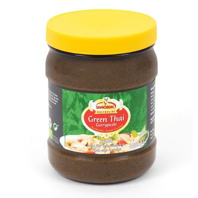 Sanchon, Green Thai Currypaste, Gastroline, biologisch