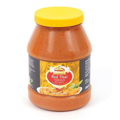 Sanchon, Red Thai Currysauce, Gastroline, biologisch