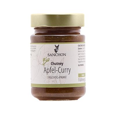 Sanchon Chutney Apfel Curry fruchtig-pikant
