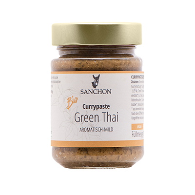 Sanchon Currypasten Green Thai aromatisch-mild