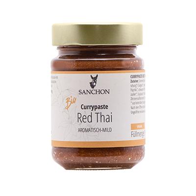 Sanchon Currypaste Red Thai aromatisch-mild