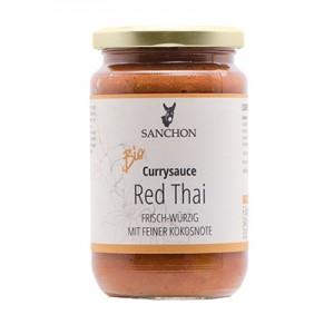 Sanchon Currysauce Red Thai frisch-würzig mit ffeiner Kokosnote