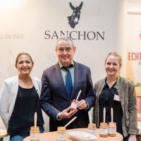 Horst Becker zu Besuch bei Sanchon