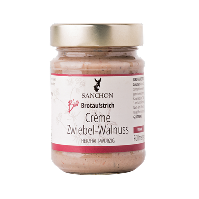 Crème Zwiebel-Walnuss