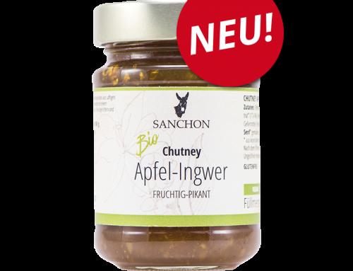 Neu! Chutney Apfel-Ingwer.